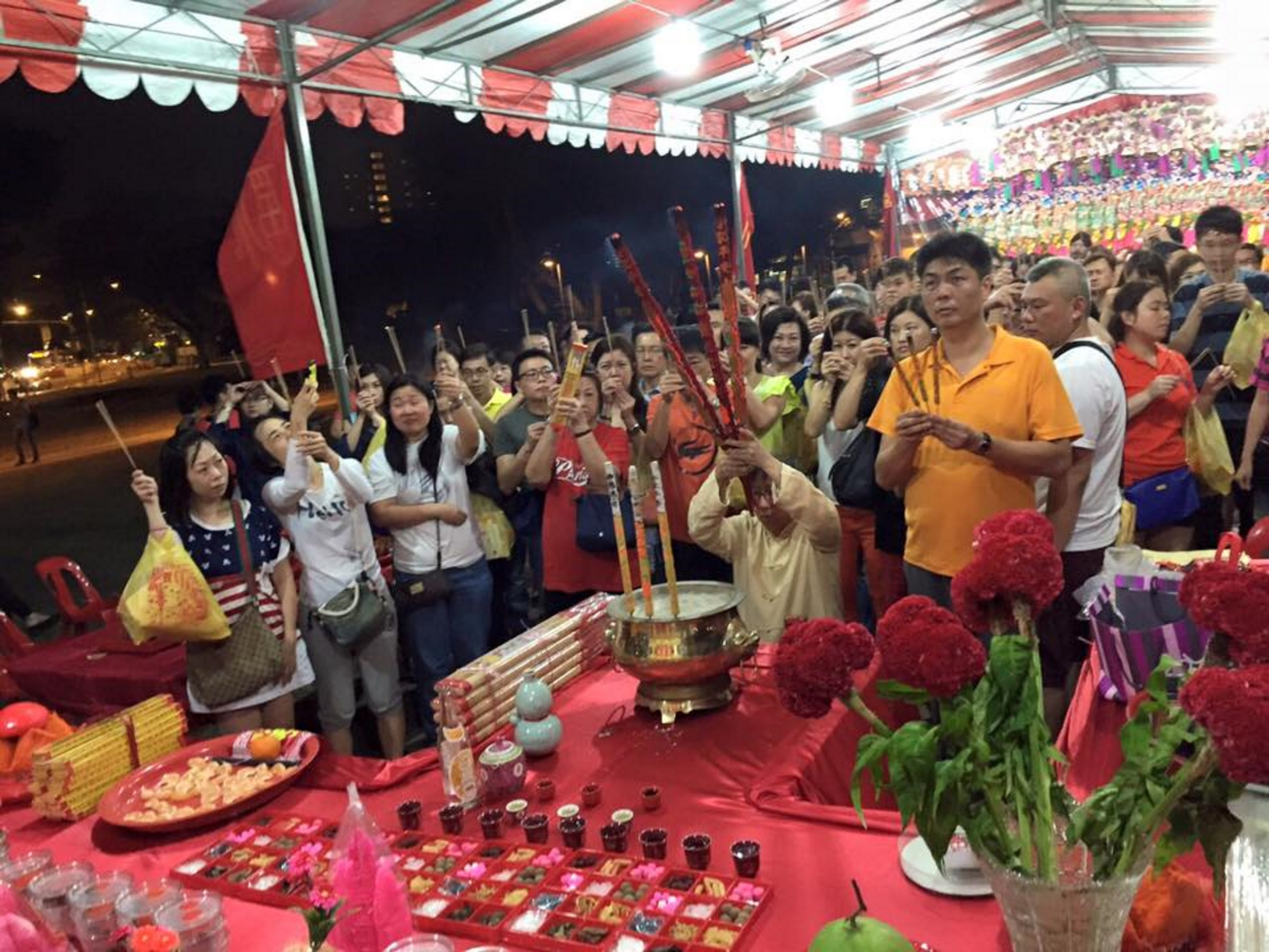 Jade Emperor Luck Enhancement Prayers Event